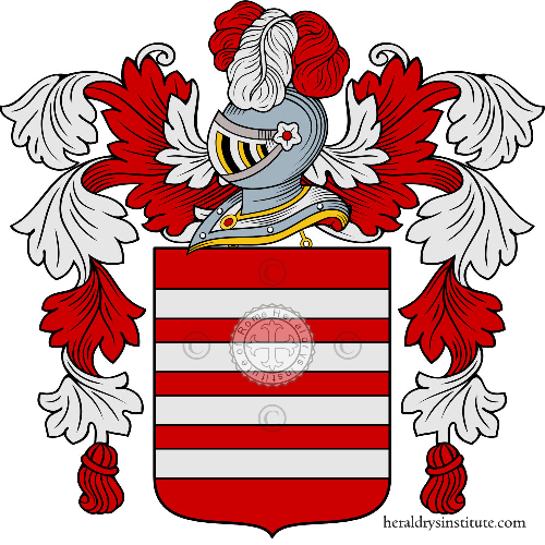 Coat of arms of family d'Annibali