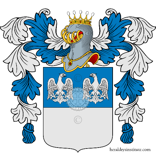 Coat of arms of family Gianni