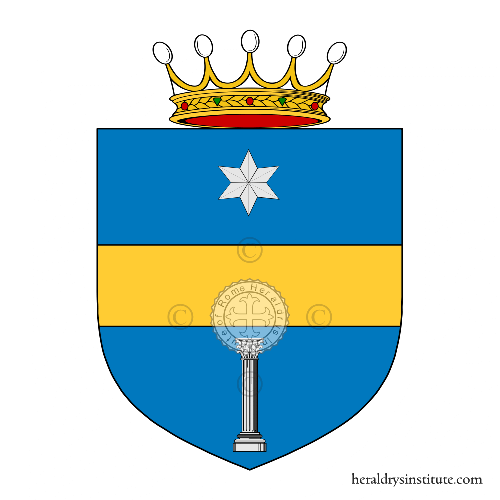 Coat of arms of family Schinoso