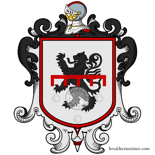 Coat of arms of family Brizi