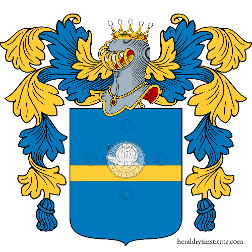 Coat of arms of family Brizzi