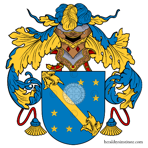 Coat of arms of family Togny