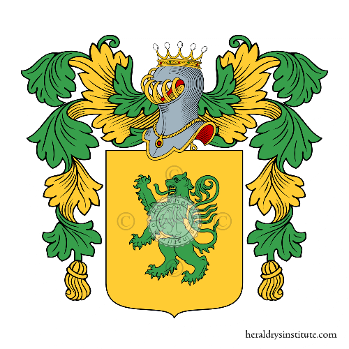 Coat of arms of family Apollinari