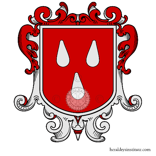 Coat of arms of family Seppia