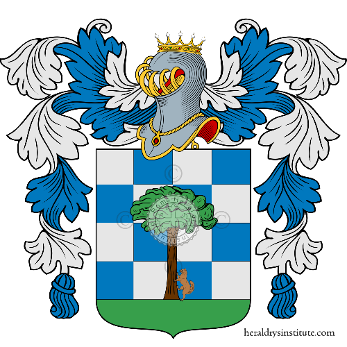 Coat of arms of family Zandone