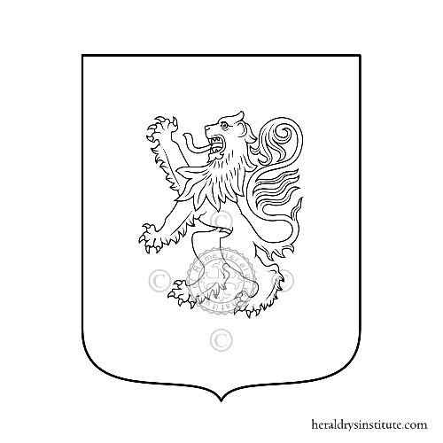 Coat of arms of family Cuzzi