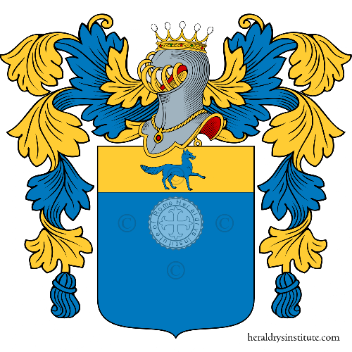 Coat of arms of family Colzi