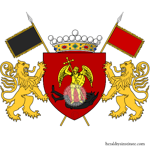 Coat of arms of family San Michele Arcangelo