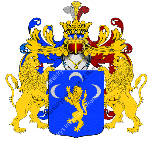 Coat of Arms of family Sarcio