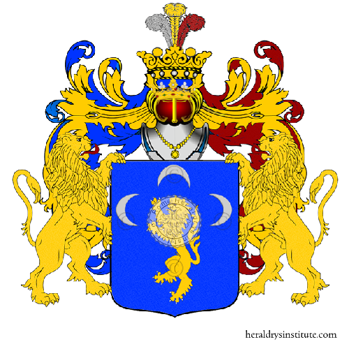 Coat of arms of family Leonella