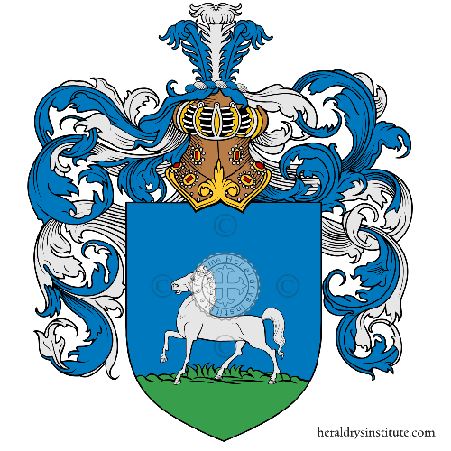 Coat of arms of family Camellai