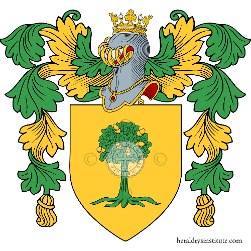 Coat of arms of family Vecchione