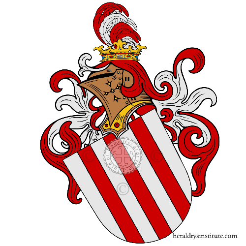 Coat of arms of family Héder
