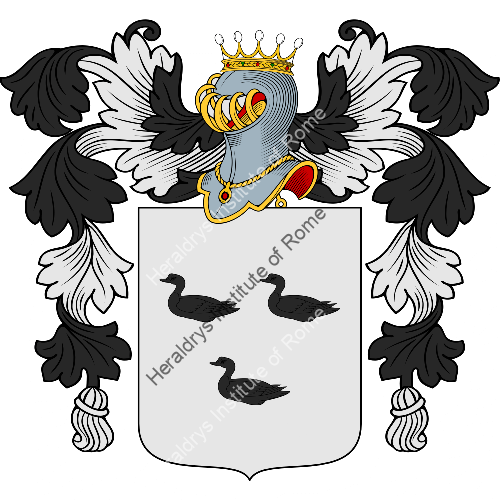 Coat of arms of family Robe
