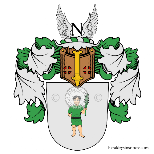 Coat of arms of family Thie