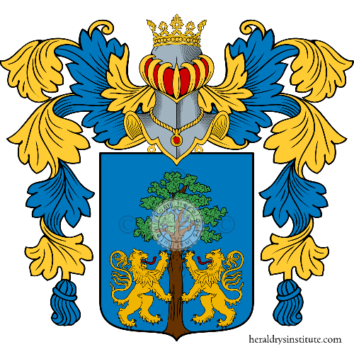 Coat of arms of family Giovene