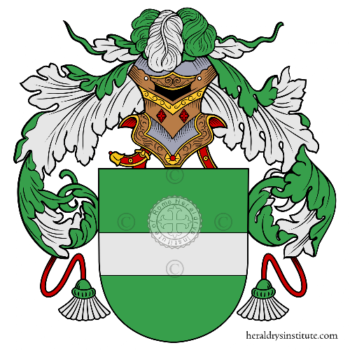 Coat of arms of family Cañal
