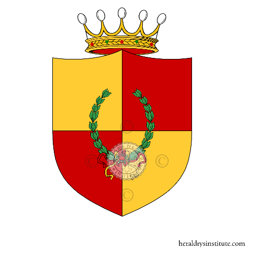 Coat of arms of family Osma