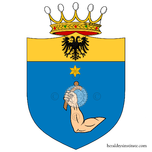 Coat of arms of family Cosma
