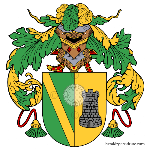 Coat of arms of family Brusi