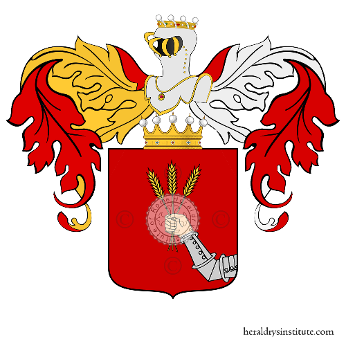 Coat of Arms of family Li Destri