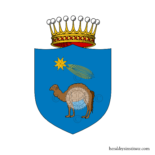 Coat of arms of family Megale