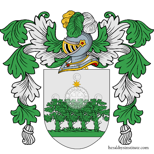Coat of arms of family Zarza