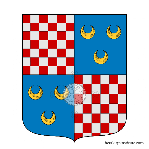 Coat of arms of family Bertholet