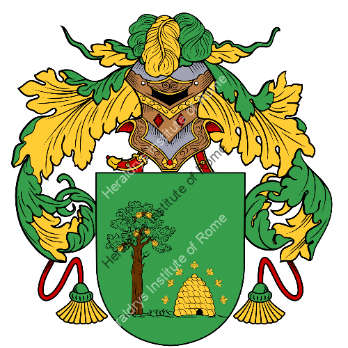 Coat of arms of family Abello