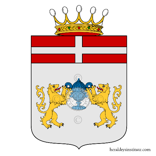 Coat of arms of family Piovacari
