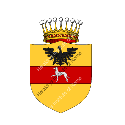 Coat of arms of family Vallisneri