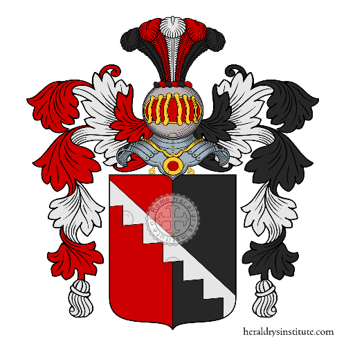 Coat of arms of family d'Acerno