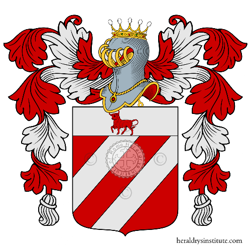 Coat of arms of family della Vacca