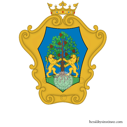 Coat of Arms of family Sforti
