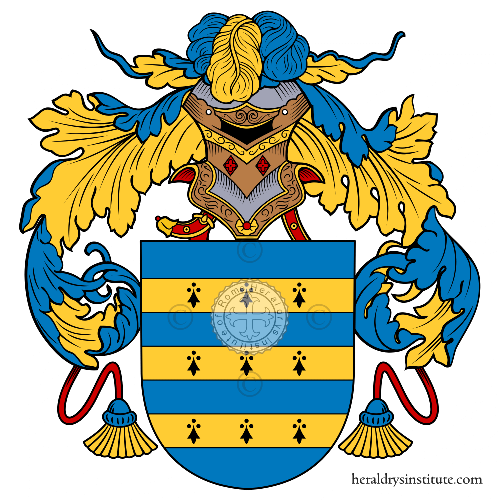 Coat of arms of family Calistro