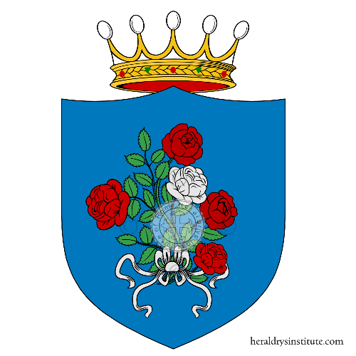 Coat of arms of family Azetti