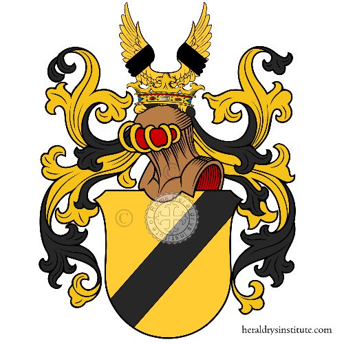 Coat of arms of family Zimpfer