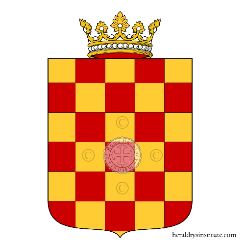 Coat of arms of family Grimaldo