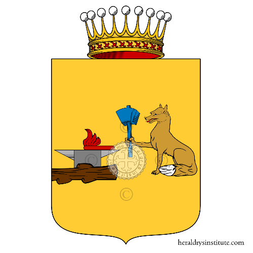 Coat of arms of family Auda