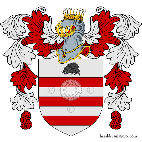 Coat of arms of family Rizzardi