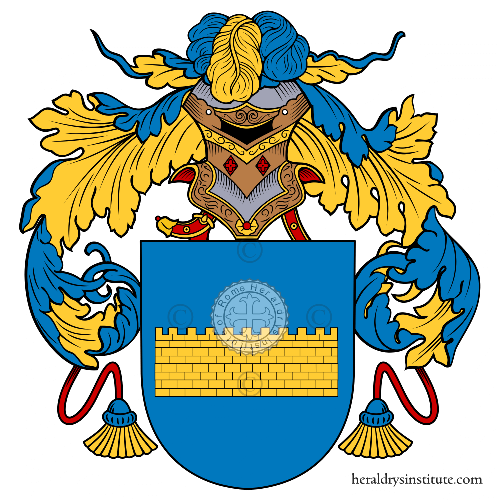 Coat of arms of family Torrico