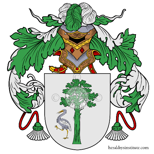 Coat of arms of family Mauricio