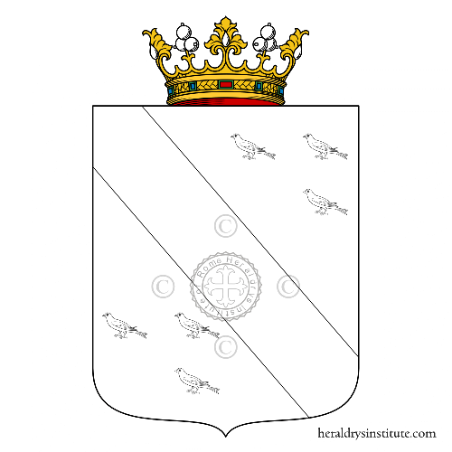 Coat of arms of family Panciera