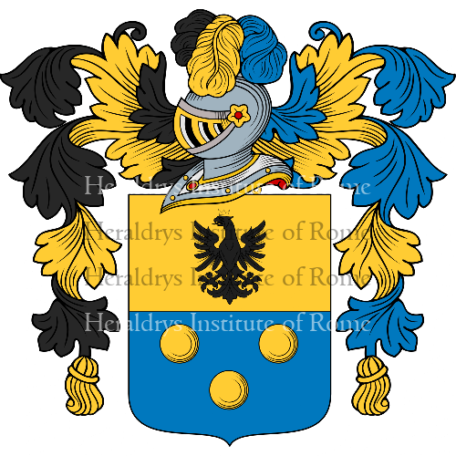 Coat of arms of family Travagliante