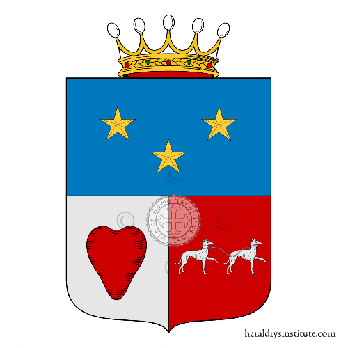 Coat of arms of family Travaglia