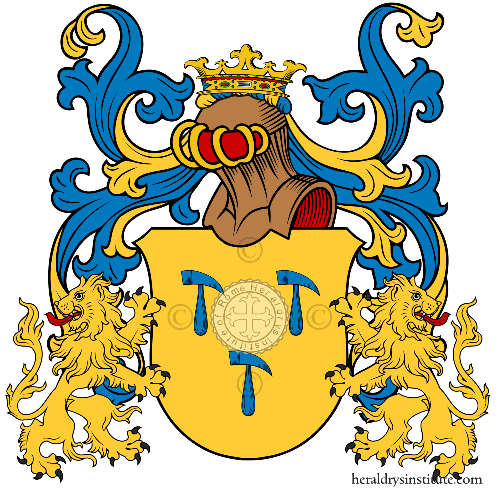 Coat of arms of family Mauritius