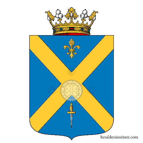 Coat of arms of family d'Andrea