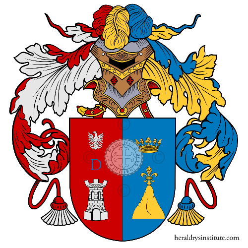 Coat of arms of family Deu