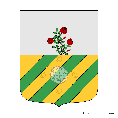 Coat of arms of family Mereghetti