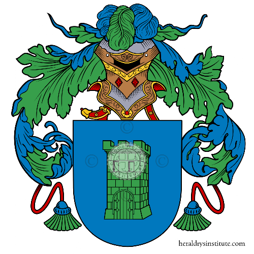 Coat of arms of family Bacigalupi